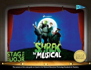 Shrek The Musical Study Guide - The SKyPAC