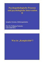 Seminar-Einführung-D - UPD Abteilung für Psychotherapie