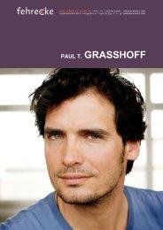 PAUL T. GRASSHOFF - Fehrecke
