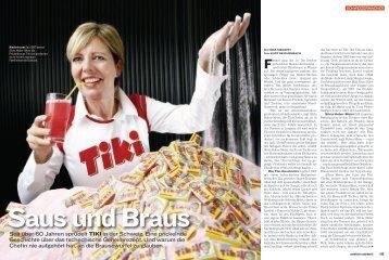 Seit über 60 Jahren sprudelt tiKi in der Schweiz. Eine prickelnde ...
