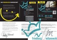 PDF-Datei - Taxi Friedburg Milanowski