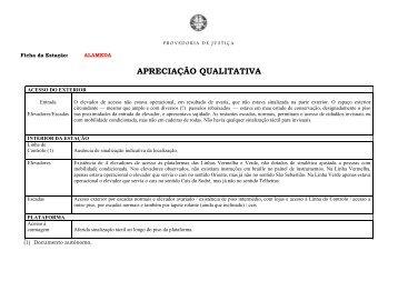 Lisboa – Apreciação qualitativa - Provedor de Justiça