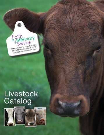 Livestock Catalog - Faith Veterinary Service