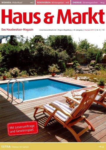 Magdeburg Ausgabe Mai/Juni 2013 - Haus & Markt
