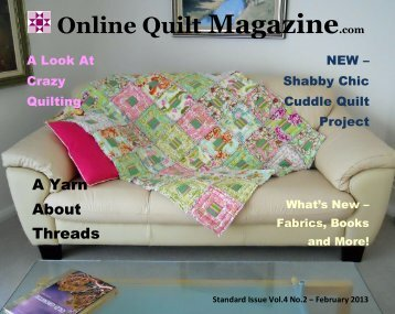 Downloading - Online Quilt Magazine.com