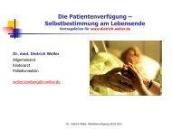 PV-Vortrag-für-Homepage-040213 - Dr. med. Dietrich Weller