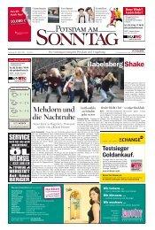 WECHSEL - Potsdamer Neueste Nachrichten