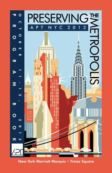 Conference Program Book - The Association For Preservation ...