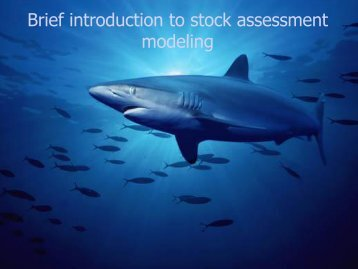 Brief introduction to stock assessment modeling