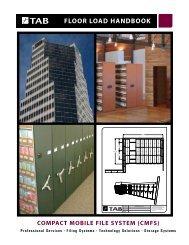 Storage Solutions: Floor Load Handbook - Tab