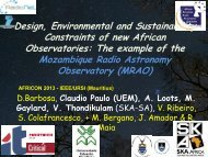 Design, Environmental and Sustainability Constraints of ... - URSI-NL