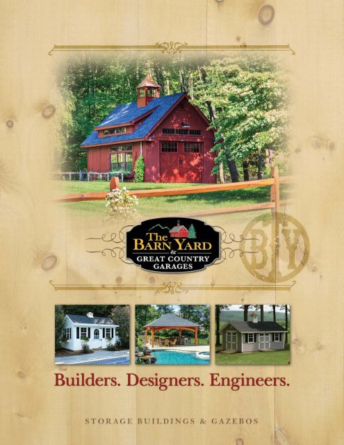 Storage Buildings & Gazebos Brochure - The Barn Yard and Great