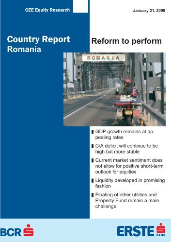 Country Report - Bancherul