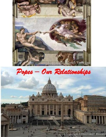 Popes – Our Relationships - AncestryFootprints