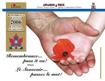 2006 - The Royal Canadian Legion