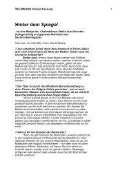 Titel-Interview MM 602 - Medium Magazin