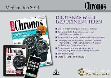 Mediadaten Chronos - Watchtime.net