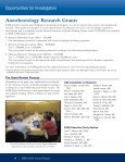 FAER_2008_Annual_Report - Foundation for Anesthesia Education ... - Page 6