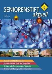 8. Ausgabe, 4. Quartal 2012 - Seniorenstift