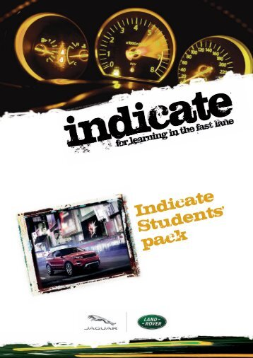 Indicate Students pack - The Institute of the Motor Industry