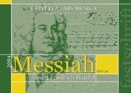 Georg Friedrich Händel - Cappella Ars Musica