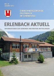 August 2013 - Erlenbach im Simmental