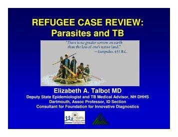 Parasites and TB - New England TB Consortium