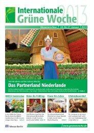 Zeitung zur Internationalen Grünen Woche - Landwirt.com