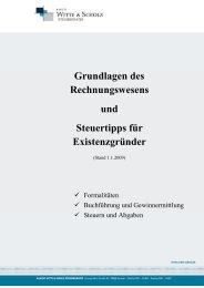 Grundlagen des Rechnungswesens und Steuertipps für ...