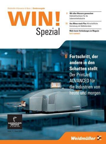Spezial - Weidmüller Interface GmbH & Co. KG