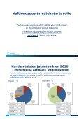 Valtionosuusjärjestelmän uudistaminen ja vuoden ... - Kunnat.net - Page 2