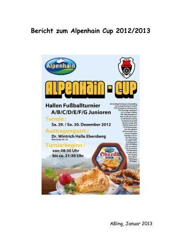 Alpenhain Cup 2012/2013 - TSV Assling