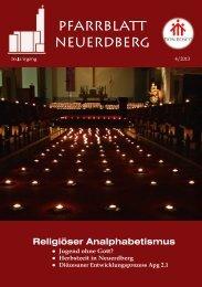 pfarrblatt neuerdberg - Pfarre Neuerdberg, Don Bosco