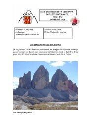club excursionista cerdanya butlleti informatiu num. 142 gener de ...