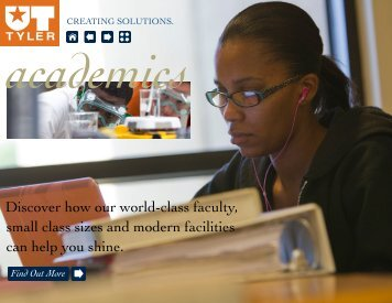 academics - The University of Texas at Tyler