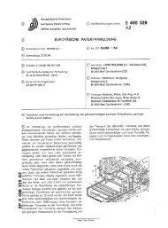 Verfahren und Vorrichtung zur Herstellung von ... - Googleapis.com