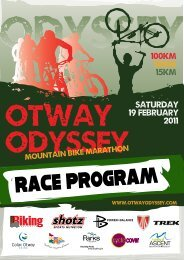 Click here to download the race program - Rapid Ascent