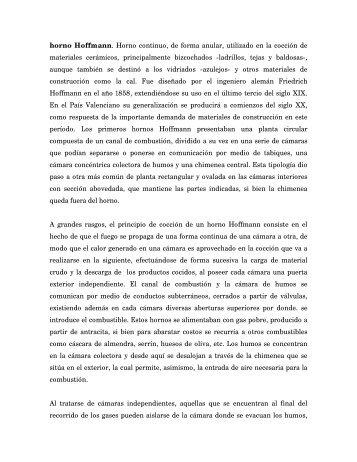 horno Hoffmann - Arqueologia Industrial
