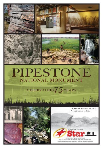 to download the Pipestone National Monument 75th Edition.