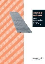 Schwimm- badroste - Abu-plast Kunststoffbetriebe GmbH