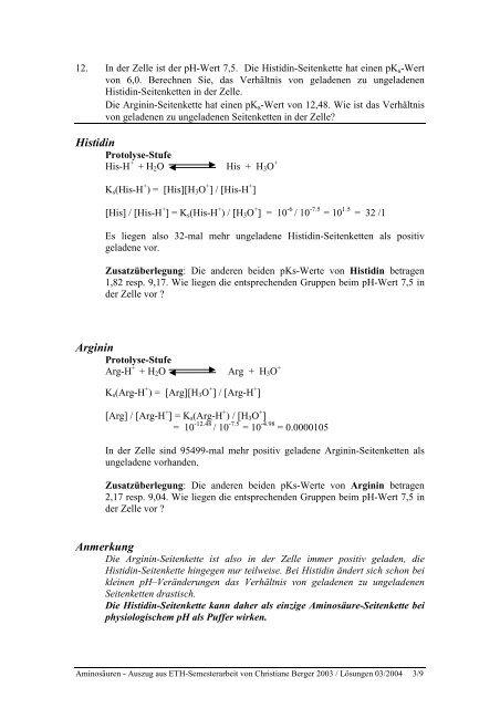 """Lösungsblatt zu """"Aufbau von Aminosäuren"""" - Index of"""