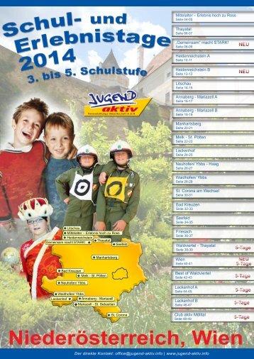 Niederösterreich & Wien 2014 - Jugend aktiv