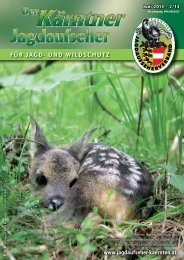 Ausgabe Juni 2013 - Jagdaufseher Kärnten