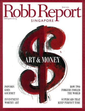 Article in the Robb Report - Digilis