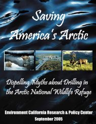 Dispelling Myths about Drilling in the Arctic National Wildlife Refuge