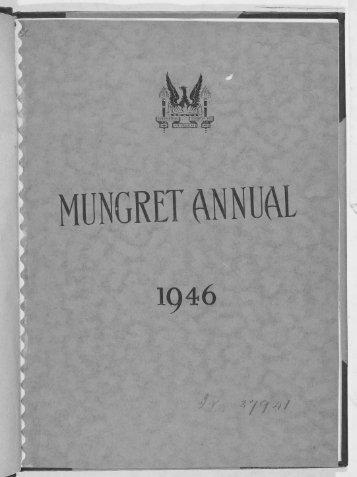 MUNGRET ANNUAL - Mungret College Past Pupils' Union