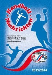 Download der Hallenzeitung - TSV Korbach