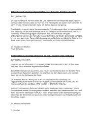 Antwort der Anfragen - Ultras Gelsenkirchen