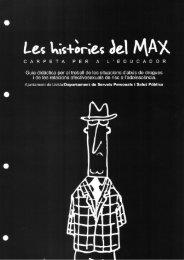 Les històries del Max Carpeta per a l'educador - Hemeroteca Drogues