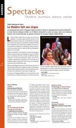 Le théâtre fait son cirque - JDS.fr